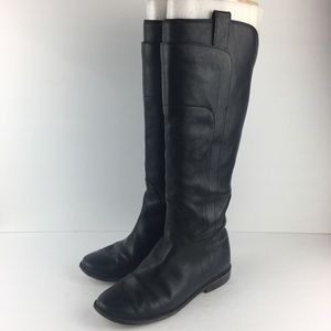 Frye Paige Tall Black Riding Boots Size 7